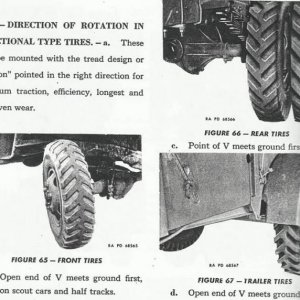 Directional Tire Mounting